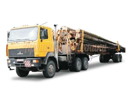 Перевозка леса лесовозом грузоподъемность стрелы до 10 т